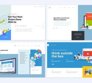 様々なホームページデザイン